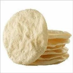 Indian Round Rice Papad, Packaging Size: 100gm, 250 Gms