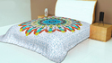Floral Design Printed Mandala Wall Hanging Tapestry