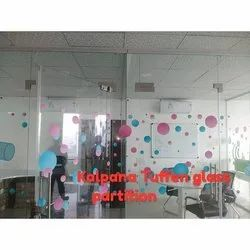 Transparent Glass Partition