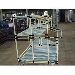 Lean pipe & Joint FIFO Storage Rack