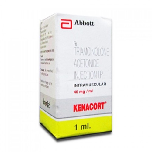 Kenacort Liquid Triamcinolone Acetonide Injection IP, For Clinical, 1 Ml,  Rs 67 /unit | ID: 15429986962