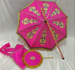 Kasi Yathra Decorated Wedding Umbrella set