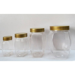 Plastic Pet Honey Jar