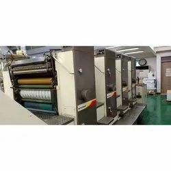 Mitsubishi 2 F. Multi Colour Offset Printing Machine