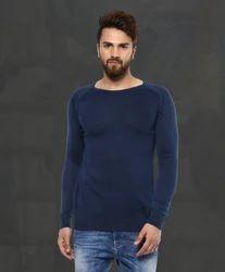 Blue Flatknit MSK-4165-E T Shirt