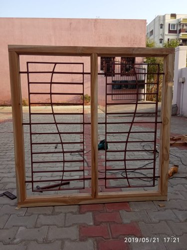 Teak Wood Window Design 4x2 5 4x4 At Rs 11200 Number Teak Wood Window Id 20987334248