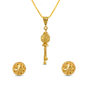 Gold Ball Pendant