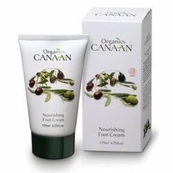 Organic Canaan Organic Nourishing Foot Cream, Pack Size: 125ml, for Parlour