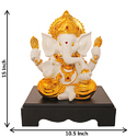 Gold Plated Lord Ganesha Statue God Idols - Corporate Gift Items