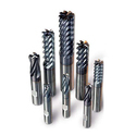 Solid Carbide End Mill, Helix Angle: Various