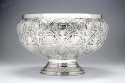 Pure Silver Fruit Bowl