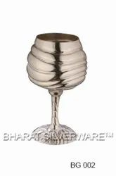 Pure Silver Wine Goblet