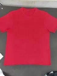 Round Neck Slub Jersey T Shirt