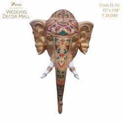 EL02 Fiberglass Elephant