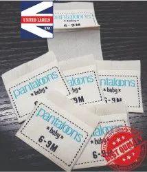 Garment Clothing Label