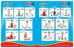 Domestic Use Purnima Mixer Grinder, 751 W - 1000 W