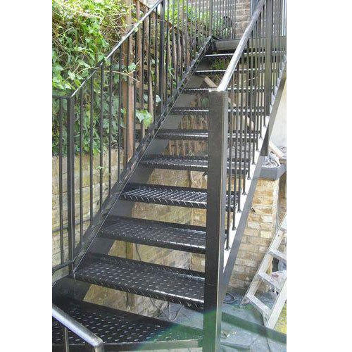 Panel Outdoor Metal Stair Railing