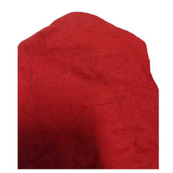 Red Plain Interlock Knitted Fabric