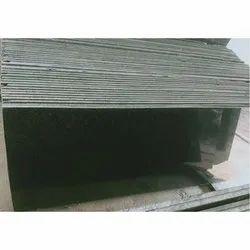 Rajasthan Black Galaxy Granite Slab, Thickness: 15-20 mm