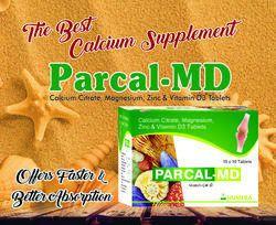 Calcium Carbonate   Calcitriol   Zinc   Tablet