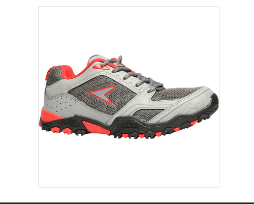 Bata Leather Power Grey Sports Shoes