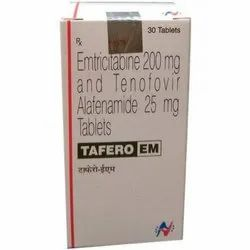 Emtricitabine 200 mg and Tenofovir Alafenamide 25 mg