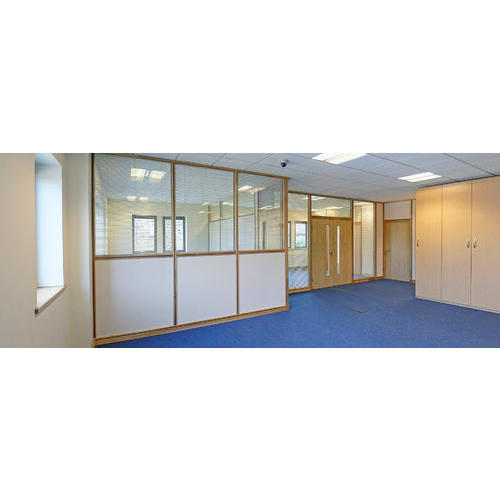 White Timber Frame Partitions, Rs 270 /square feet, I 4 India ...