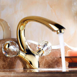 Crystal Brass Water Tap