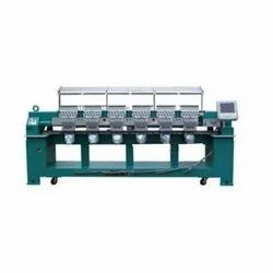 Multi Head Flat Cap Embroidery Machine