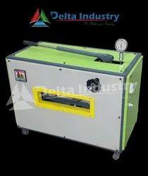 A4 Semi Hydraulic Plastic PVC ID Card Fusing Machine
