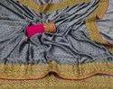 Self Weaving Butti Silk Saree