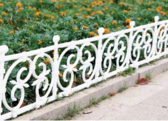 Square Design Fence Pack Of 4