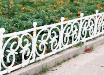 Pppvc Square Design Fence Pack Of 4 Rs 1100 Pack Wonderland