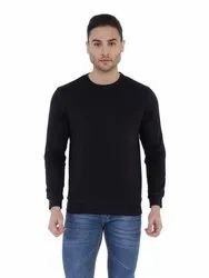 Men Round Neck Sweat Shirt - Plain and Printed