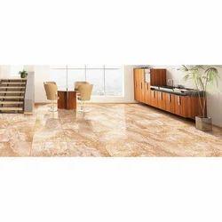 Pgvt Glazed Porcelain Tiles, For Flooring, Thickness: 8 - 10 mm