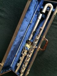 Bass Flute In Two Pieces