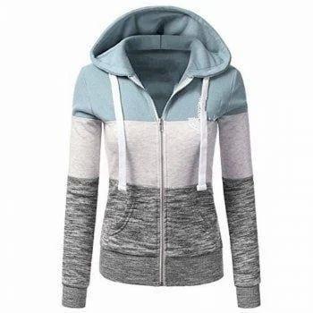 Ladies Hooded Jackets ab58275e8