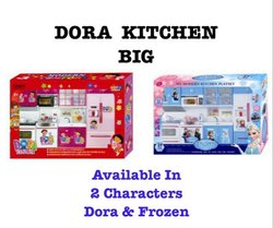Red And Blue Dora Kitchen Big Rs 750 Piece Zee Toys Id 21428999062