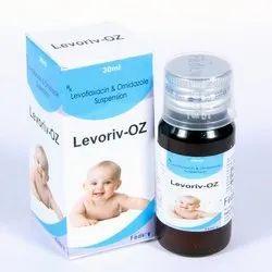 Levofloxacin 125mg Ornidazole 125mg Susp