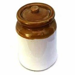Raj Royal White And Yellow Ceramic