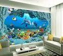 3D Dolphin Tiles