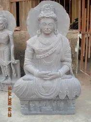 Buddha In Kaddappa Sand Stone
