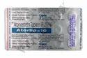 Atorlip 10 mg (Atorvastatin Tablets)