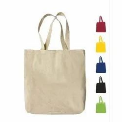 EcoRev Loop Handle Cotton Canvas Tote Bags, Size: 15 W X 16 H