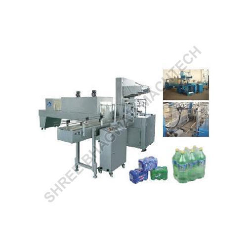 Mild Steel Shrink Wrapping Machine for Bottles