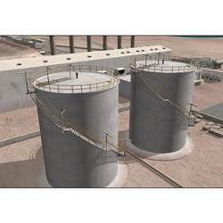 Cast Iron Chemicals/Oils Storage Tanks