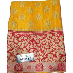 Ladies Party Wear Kota Silk Saree with Blouse