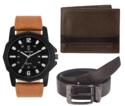 Watch, Wallet & Belt Combo Packs