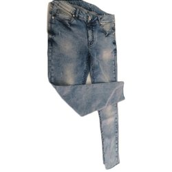 Stretchable Faded Jeans