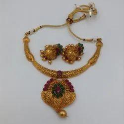 D8060 Brass Jewellery Set